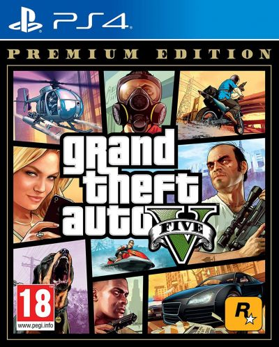 GTA V Premium Edition PS4 Game Best Price, Cheapest Prices