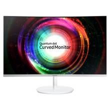 Samsung C27H711 27 Inch Curved LED Monitor - White Best Price, Cheapest Prices