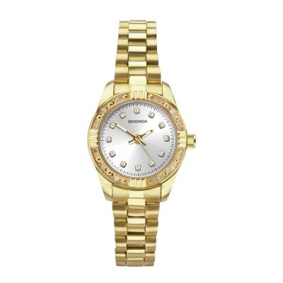 Sekonda Ladies Gold Coloured Bracelet Watch Best Price, Cheapest Prices