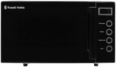 Russell Hobbs 700W Standard Microwave RHEM1901B - Black Best Price, Cheapest Prices