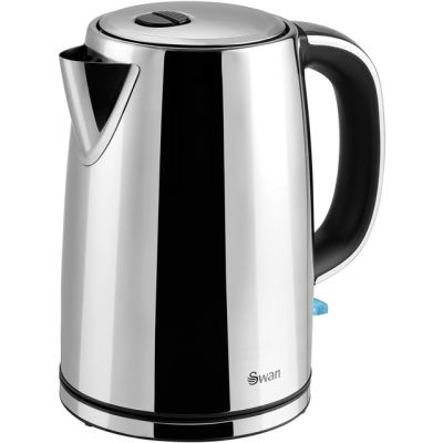 Swan Classic SK14060N Kettle - Polished Stainless Steel Best Price, Cheapest Prices