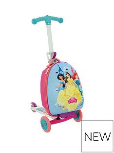 Disney Princess Disney Princess 3-In-1 Scooting Suitcase Best Price, Cheapest Prices