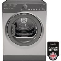 HOTPOINT TVFS73BGG9 7kg Freestanding Vented Tumble Dryer - Graphite Best Price, Cheapest Prices