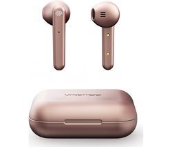 URBANISTA Stockholm Wireless Bluetooth Earphones - Rose Gold Best Price, Cheapest Prices