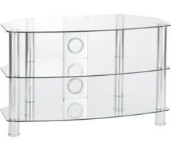 TTAP Vantage 1050 TV Stand - Chrome Best Price, Cheapest Prices