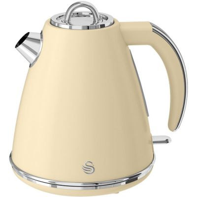 Swan Retro SK19020CN Kettle - Cream Best Price, Cheapest Prices