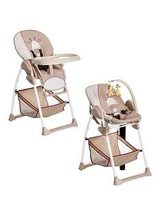 Hauck Sit N Relax Highchair - Giraffe Best Price, Cheapest Prices