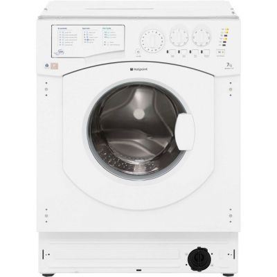 Hotpoint BHWM1292 Integrated 7Kg Washing Machine with 1200 rpm - A++ Rated Best Price, Cheapest Prices