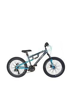 Muddyfox Nebraska Dual Suspension Girls Mountain Bike 24 Inch Wheel Best Price, Cheapest Prices