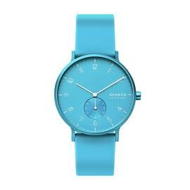 Skagen Kulor Neon Blue Silicone Strap Watch Best Price, Cheapest Prices