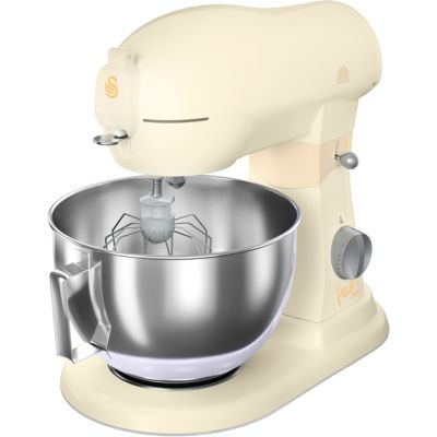 Swan Fearne By Swan SP32010HON Stand Mixer with 6 Litre Bowl - Honey Best Price, Cheapest Prices