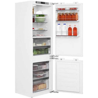 Leisure Patricia Urquiola PBC273F Integrated 70/30 Frost Free Fridge Freezer with Fixed Door Fixing Kit - White - A++ Rated Best Price, Cheapest Prices