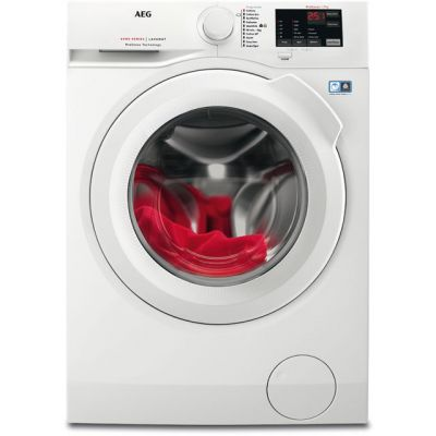 AEG ProSense Technology L6FBI741N 7Kg Washing Machine with 1400 rpm - White - A+++ Rated Best Price, Cheapest Prices