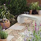 Curvo Natural Sandstone Bench of 1 Best Price, Cheapest Prices
