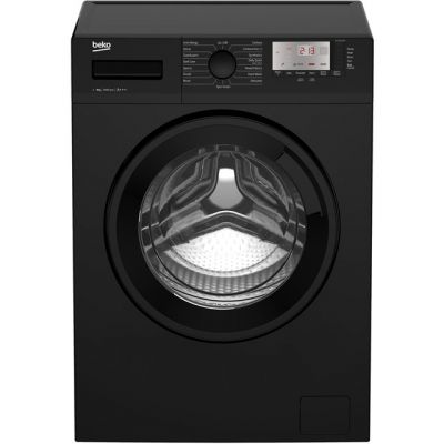Beko WTG941B3B 9Kg Washing Machine with 1400 rpm - Black - A+++ Rated Best Price, Cheapest Prices