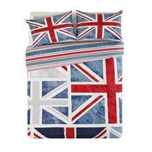 HOME Union Jack Bedding Set - Kingsize Best Price, Cheapest Prices