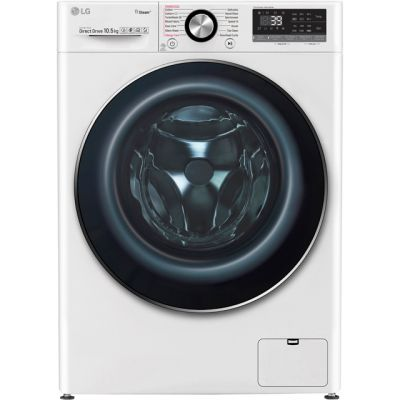 LG Vivace F4V910WTS Wifi Connected 10Kg Washing Machine with 1400 rpm - White - A+++ Rated Best Price, Cheapest Prices