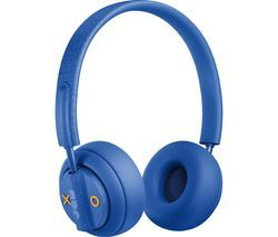 JAM Out There HX-HP303BL Wireless Bluetooth Noise-Cancelling Headphones - Blue Best Price, Cheapest Prices