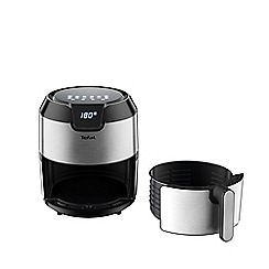 Tefal Black and silver 'Easy Fry Deluxe' 4.2L digital low fat fryer EY401D40 Best Price, Cheapest Prices