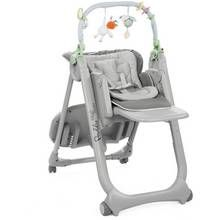 Chicco Poly Magic 4 Wheels Highchair - Anthracite Best Price, Cheapest Prices