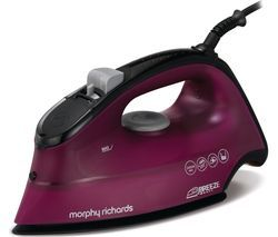 MORPHY RICHARDS Breeze 300279 Steam Iron - Mulberry Best Price, Cheapest Prices