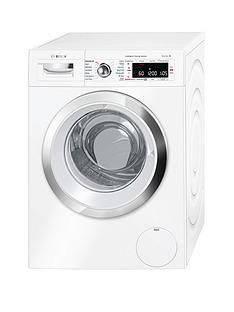 Bosch Serie 8 WAWH8660GB 9kg Load, 1400 Spin i-DOS Home Connect Washing Machine - White Best Price, Cheapest Prices