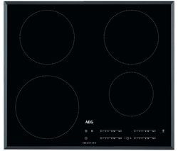 AEG IKB64401FB Electric Induction Hob - Black Best Price, Cheapest Prices
