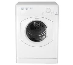 HOTPOINT Aquarius TVM570P Vented Tumble Dryer - White Best Price, Cheapest Prices