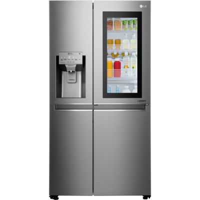 LG InstaView™ Door-in-Door™ GSX961NSVZ Wifi Connected American Fridge Freezer - Stainless Steel - A++ Rated Best Price, Cheapest Prices