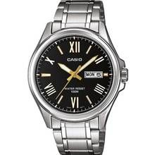 Casio Men's Stainless Steel Bracelet Day and Date Watch