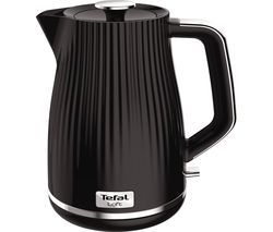 TEFAL Loft KO250840 Rapid Boil Traditional Kettle - Piano Black Best Price, Cheapest Prices