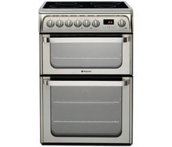 HOTPOINT HUI611 X 60 cm Electric Induction Cooker - Stainless Steel Best Price, Cheapest Prices