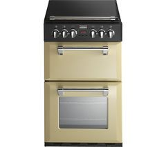 STOVES Richmond 550E Electric Cooker - Champagne Best Price, Cheapest Prices