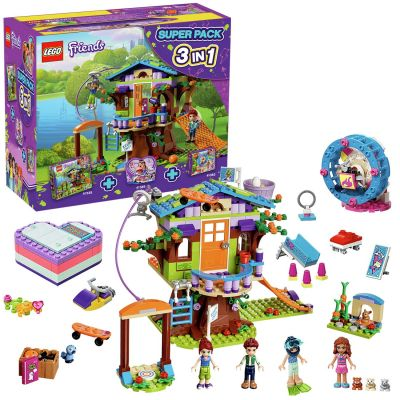 LEGO Friends 3 in 1 Super Pack - 66620 Best Price, Cheapest Prices