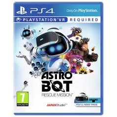 Astro Bot Rescue Mission PS VR Game (PS4) Best Price, Cheapest Prices