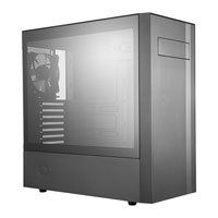 Cooler Master MasterBox NR600 (with ODD), Black, Mid Tower PC Case w/ Tempered Glass Window, ATX/mATX/mITX, 2x120mm Fans Best Price, Cheapest Prices