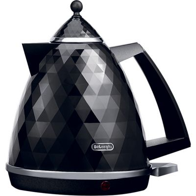 De'Longhi Brilliante KBJ3001.BK Kettle - Black Best Price, Cheapest Prices