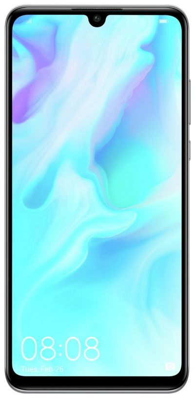 SIM Free Huawei P30 Lite 128GB Mobile Phone - White Best Price, Cheapest Prices