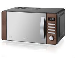 SWAN SM22090COPN Solo Microwave - Copper Best Price, Cheapest Prices
