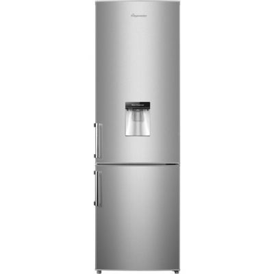 Fridgemaster MC55264DS 70/30 Fridge Freezer - Silver - A+ Rated Best Price, Cheapest Prices