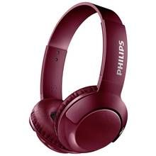 Philips SHB3075 Wireless On-Ear Headphones - Red Best Price, Cheapest Prices