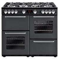 New World Traditional 100GT 100cm Gas Range Cooker in Charcoal 444444200 Best Price, Cheapest Prices