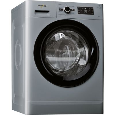 Whirlpool FreshCare+ FWG81496S 8Kg Washing Machine with 1400 rpm - Silver - A+++ Rated Best Price, Cheapest Prices