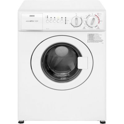 Zanussi ZWC1301 3Kg Washing Machine with 1300 rpm - White - A Rated Best Price, Cheapest Prices