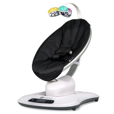 4moms mamaRoo4 Bouncer - Classic Black Best Price, Cheapest Prices