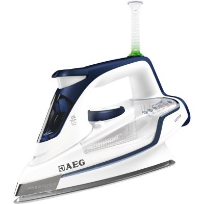 AEG Precision 4 Safety Iron DB6120-U 2200 Watt Iron -Blue Best Price, Cheapest Prices