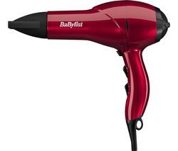 BABYLISS Salon AC Hair Dryer - Red Best Price, Cheapest Prices