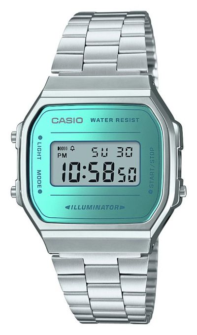 Casio Unisex Silver Stainless Steel Bracelet Watch Best Price, Cheapest Prices
