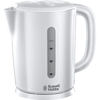 Russell Hobbs Darwin 21470 Kettle - White Best Price, Cheapest Prices