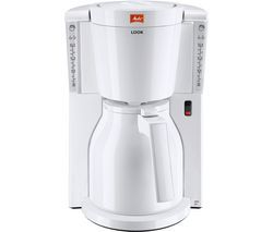 MELITTA Look IV Therm Filter Coffee Machine - White Best Price, Cheapest Prices